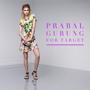Prabal Gurung for Target abstract Orchid Dress Med